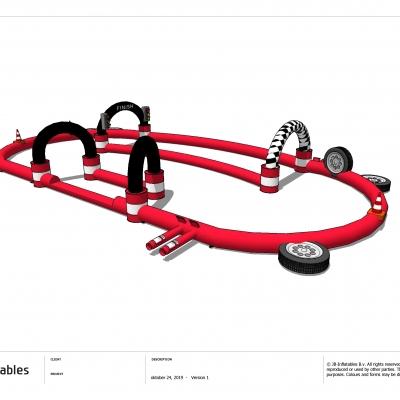 Racebaan go-karts